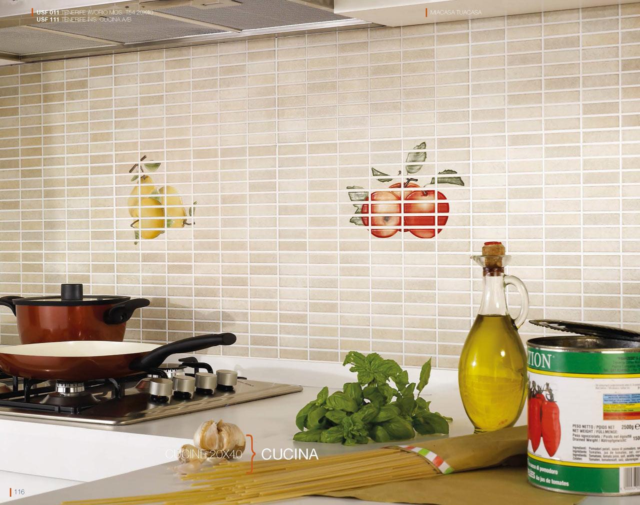 Rivestimento cucina una collezione ceramiche daytona